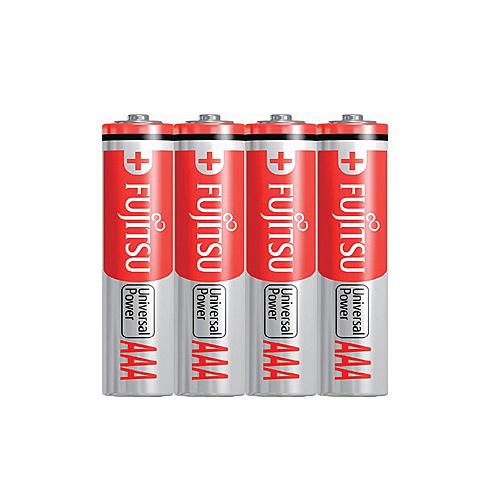 FUJITSU 富士通 4號 AAA 鹼性電池 4入 / 卡