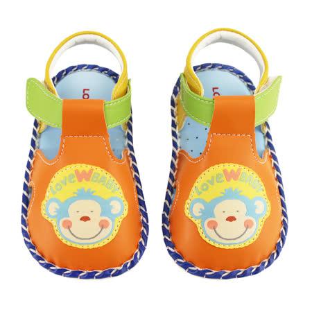 【愛的世界】猴子寶寶鞋/學步鞋-台灣製