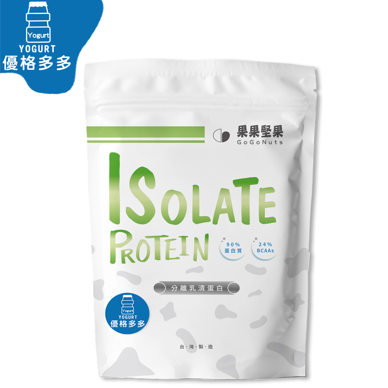 [果果堅果] 分離乳清蛋白 (500g/袋) 優格多多