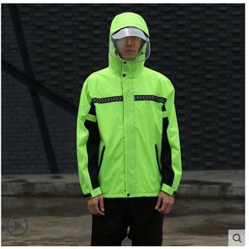 雨衣雨衣雨褲套裝男士全身分體防水加厚電瓶車雙層騎行防暴雨雨衣