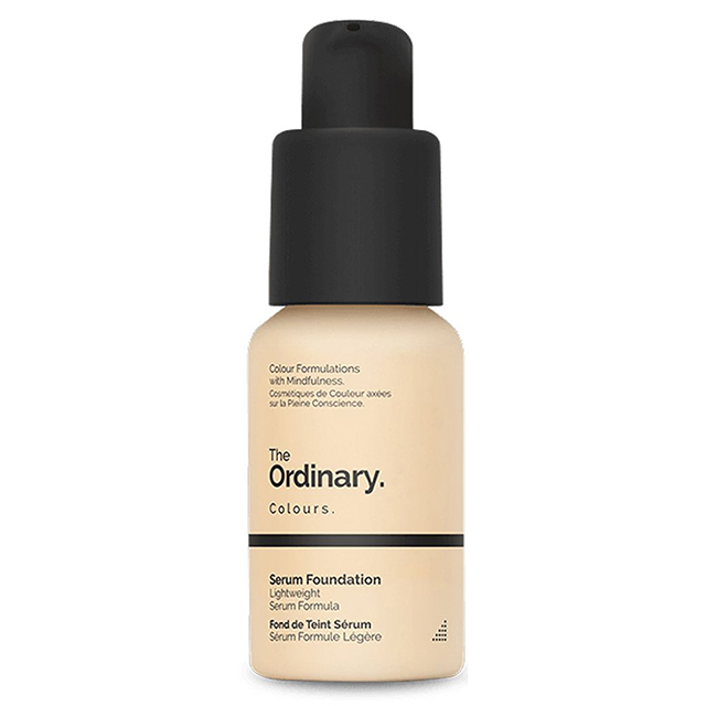 The Ordinary serum foundation 防曬精華型粉底液1.2N(30ml)