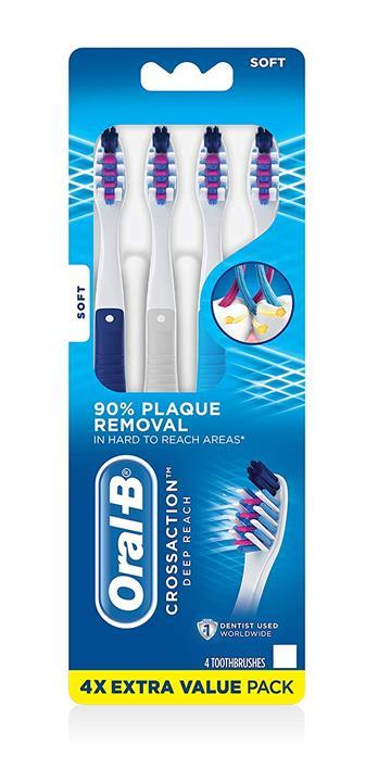 【美國代購】Oral-B Pro-Health牙刷優質清潔四支裝