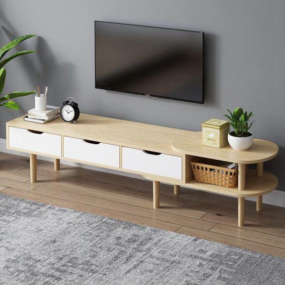 簡約現代電視櫃電視櫃小戶型簡易客廳臥室地櫃電視櫃子SUPER 全館特惠9折