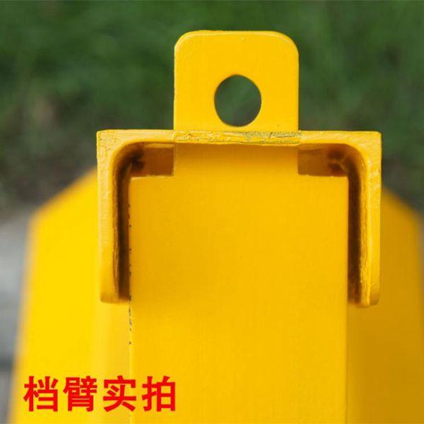 地鎖槽鋼車位鎖地鎖加厚防撞地鎖防壓停車樁汽車停車位固定三角占位鎖