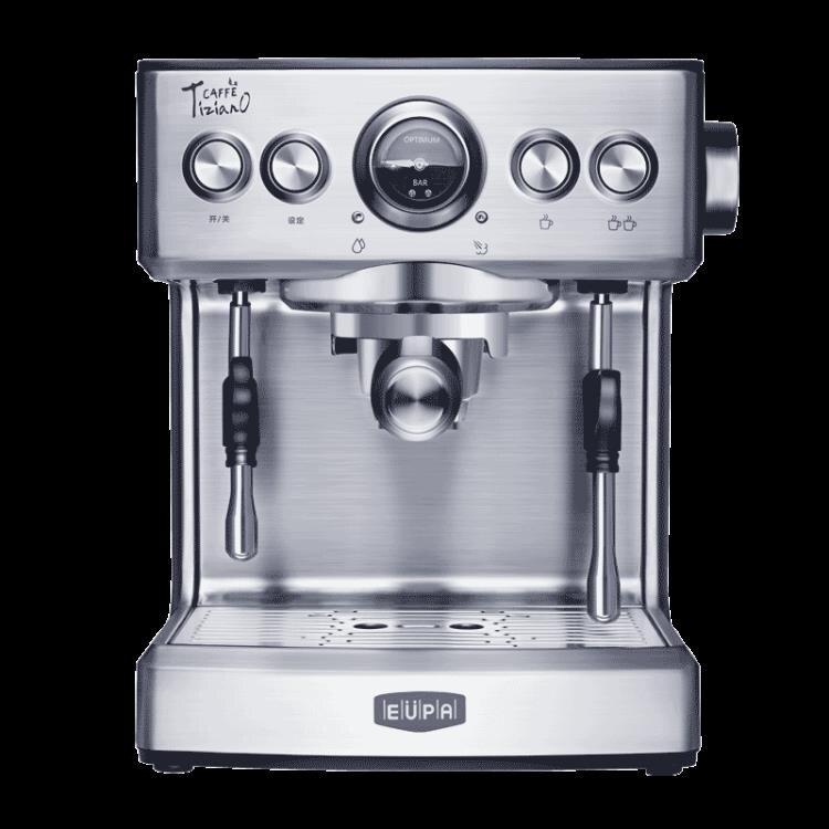 220v咖啡機意式咖啡機家用商用全半自動蒸汽式ZDX