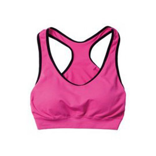 【Wildland 荒野】女彈性零壓力抗菌內衣 W3657-09桃紅色背心式/運動胸罩/機能胸衣/瑜珈慢跑/野雁戶外