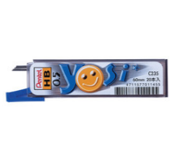 PENTEL 飛龍 自動鉛筆筆芯 0.5mm 20支入 C235