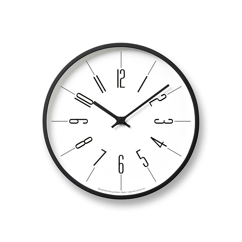 Lemnos Tower L 時鐘 - 阿拉伯數字