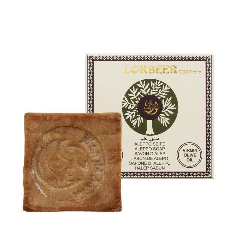 阿勒坡窖藏手工淨膚洗髮古皂15%月桂油135g(中度油性、痘痘膚質適用)