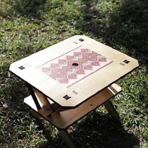 Truvii Table X One 組合桌/桌子 梧桐木 豐年