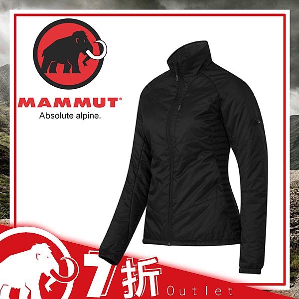 【MAMMUT 長毛象 女款 Rime Tour Jkt化纖外套《黑》】21900/運動/夾克/彈性袖口