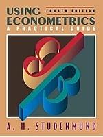 二手書博民逛書店《Using Econometrics: A Practical