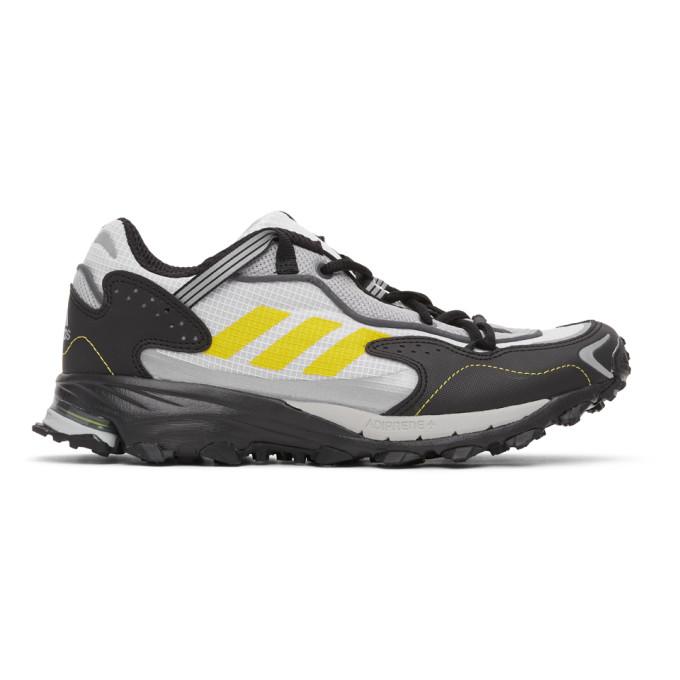 adidas Originals 白色 and 黑色 Response Hoverturf GF6100A 运动鞋