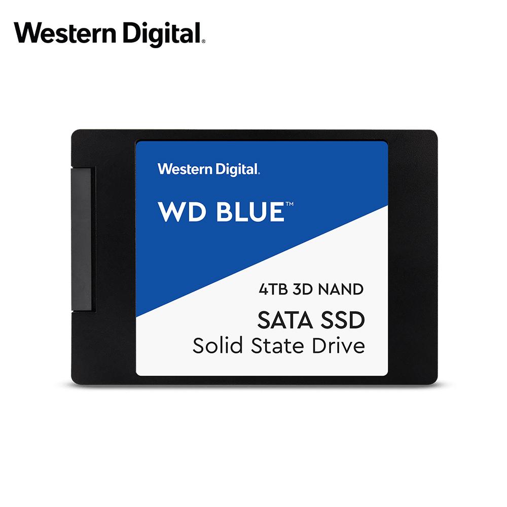 WD 威騰 藍標 4TB SSD 2.5吋 3D NAND 固態硬碟