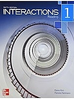 二手書博民逛書店《Interactions 1 Reading Student