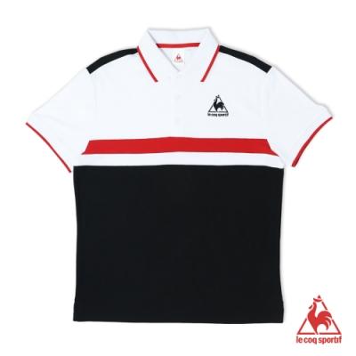 法國公雞牌短袖POLO衫 LOL2114899-男-黑