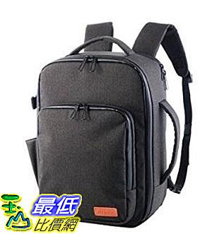 [7東京直購] ELECOM 2Way兩用帆布後背包 DGB-S029BK 黑色 可收納13.3吋筆電 相機後背包