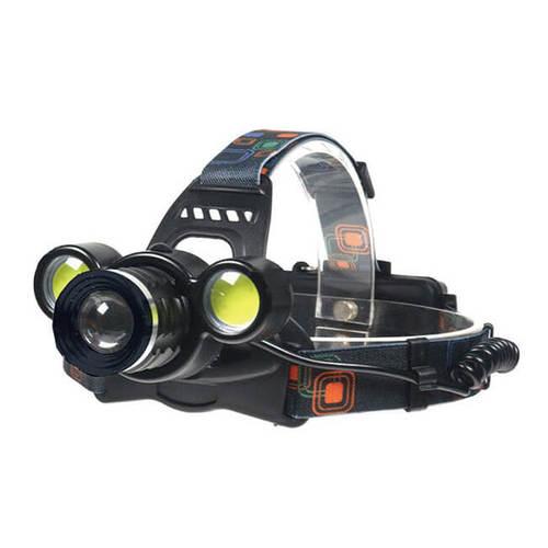 Kolin 歌林 LED旋轉調焦充電式頭燈(COB+充電組) KSD-DLK403