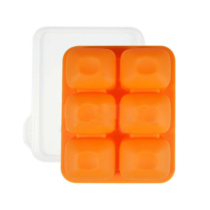 副食品Tok Tok連裝盒50mL  6格 綠