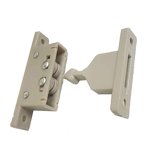 HF027 插入式卡榫門扣 香檳色 紗門固定檔 紗門防倒檔 塑膠門止 門後檔 鋁門門擋 門止