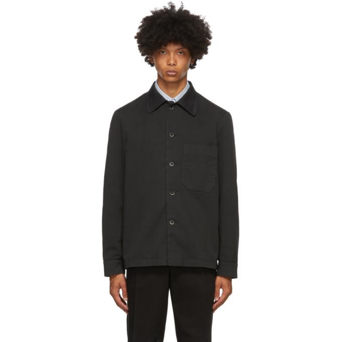 Barena 黑色 Cedrone 夹克衬衫