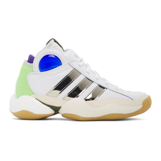 Sankuanz 白色 adidas 联名 Crazy BYW 运动鞋