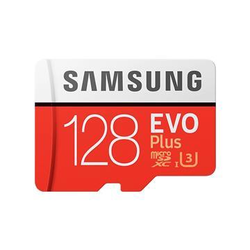 SAMSUNG三星 EVO Plus MicroSD 128G記憶卡(MB-MC128HA)