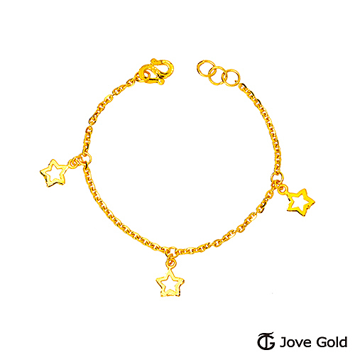 Jove Gold 漾金飾 明日之星彌月黃金手鍊