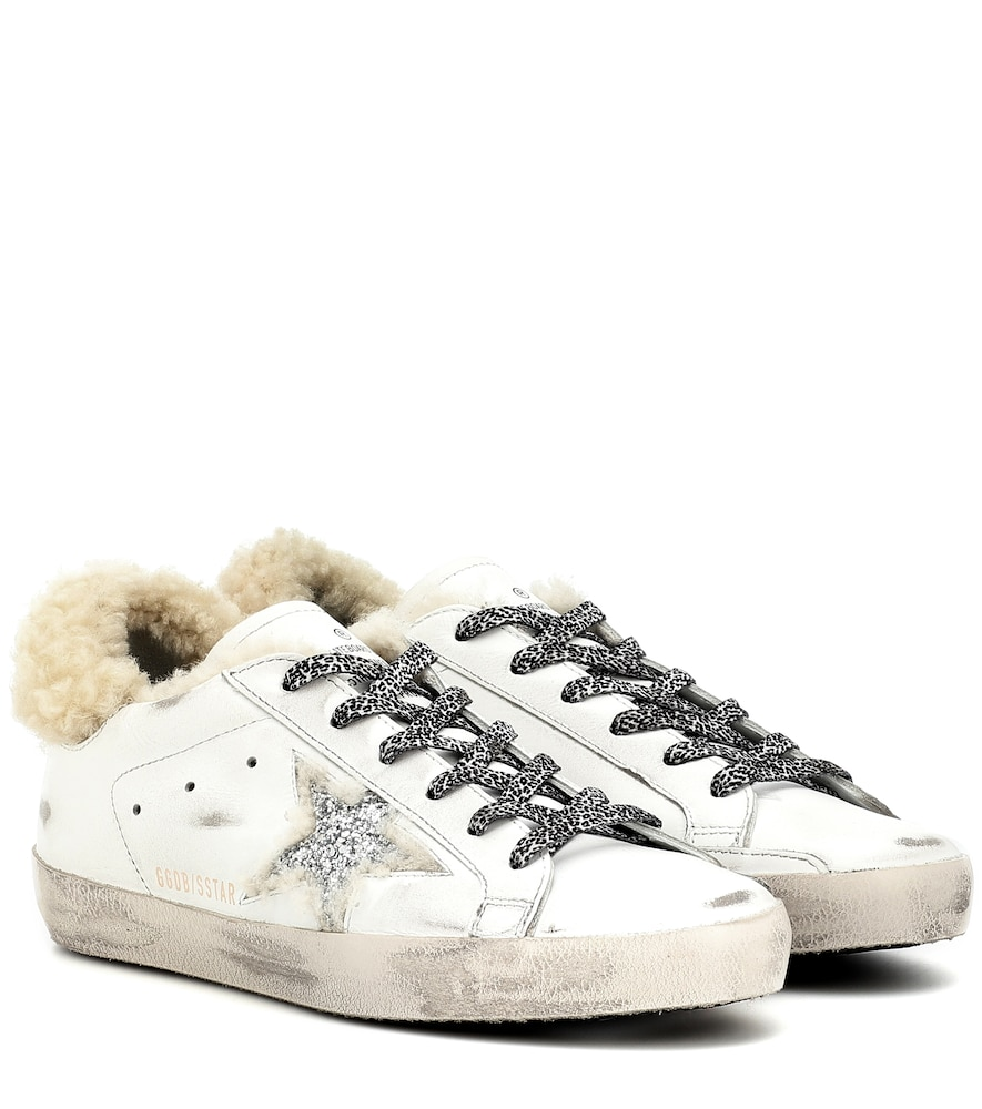 Exclusive to Mytheresa - Superstar shearling-lined sneakers