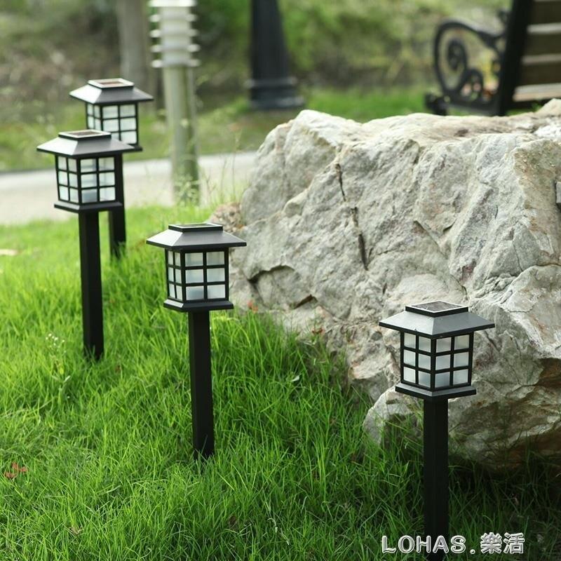 太陽能草坪燈小夜燈插地燈戶外防水小院子裝飾花園別墅庭院燈路燈 新年特惠