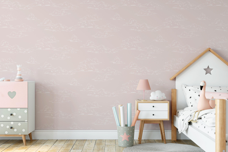 兒童房 粉色雲彩圖案  Graham & Brown /108556