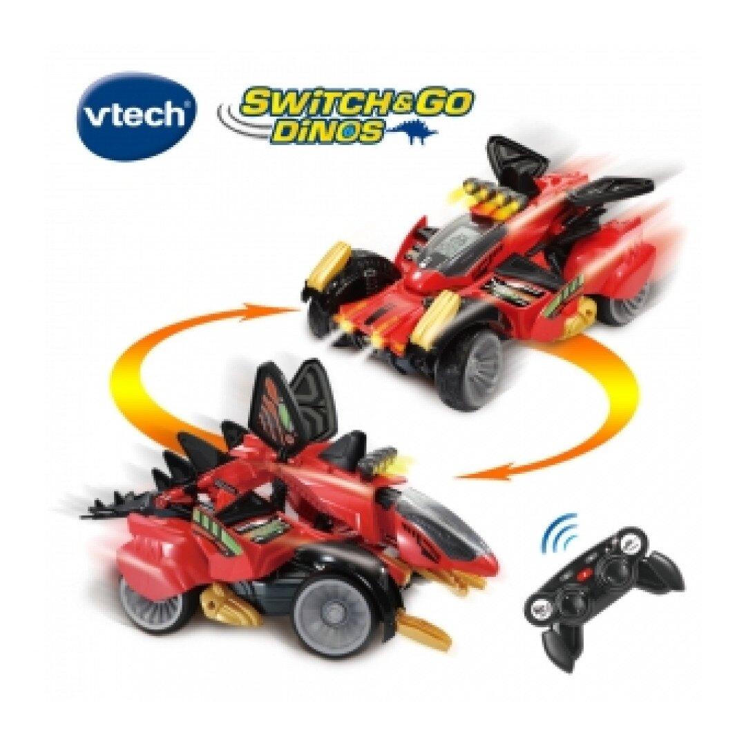 《英國 Vtech》遙控聲光變形恐龍車-劍龍-沙暴 東喬精品百貨