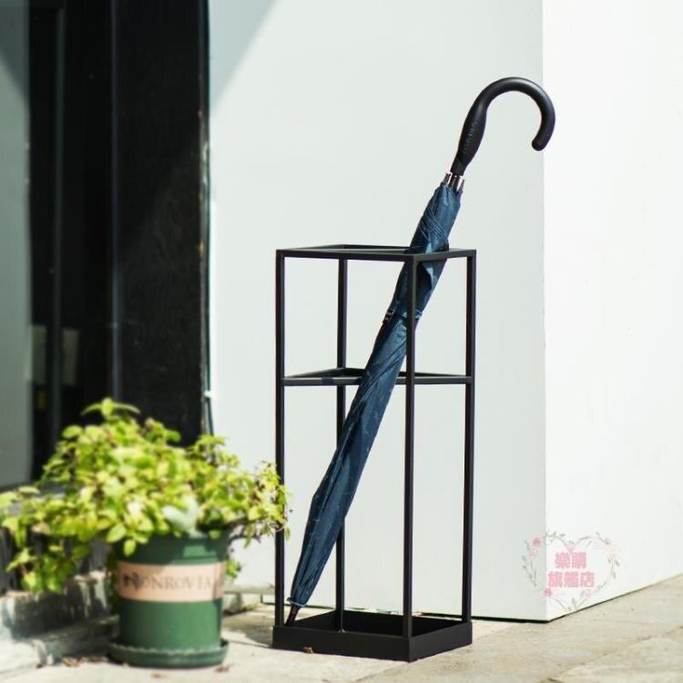 雨傘架 創意幾何北歐雨傘架家用客廳雨傘收納架傘桶酒店大堂商用放傘架子-