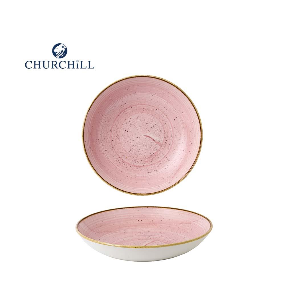 英國Churchill 點藏系列 - 圓形25cm餐碗(粉)