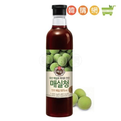 韓國CJ料理用梅子濃縮液1025g【韓購網】