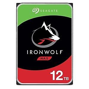 【綠蔭-免運】Seagate那嘶狼IronWolf 12TB 3.5吋 NAS專用硬碟 (ST12000VN0008)