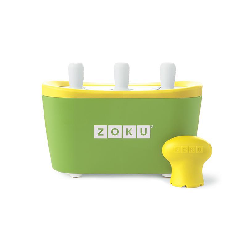 快速製冰棒機 (三支裝/綠色) + 贈送快速製冰棒機 (單支裝)