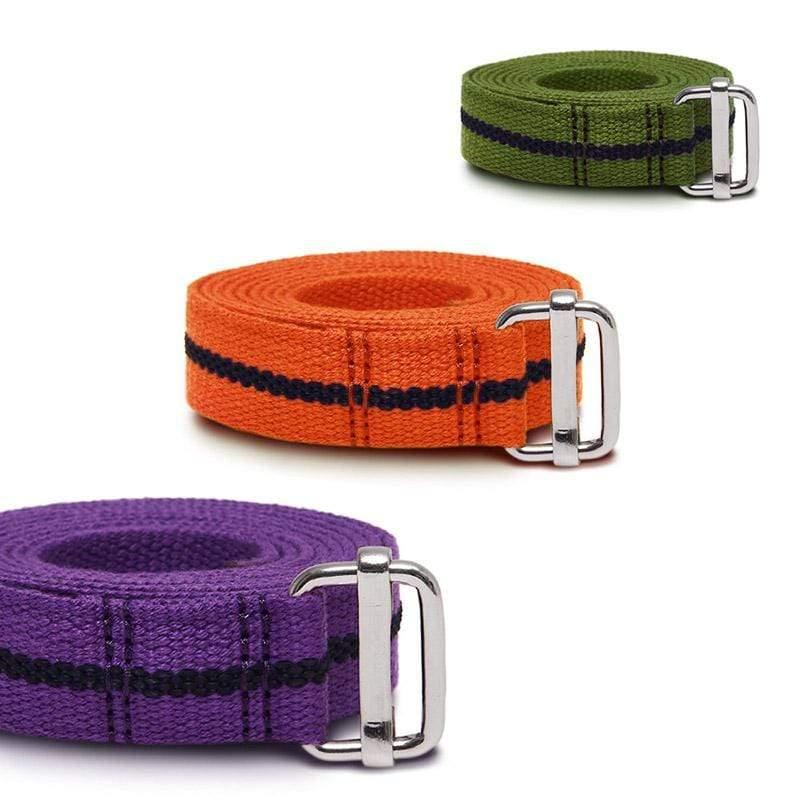 環保止滑瑜伽繩25mm/ 6呎 183公分 迷霧紫