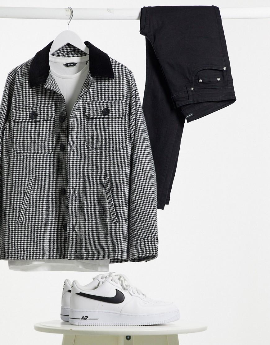 Brave Soul heritage check coach jacket-Multi
