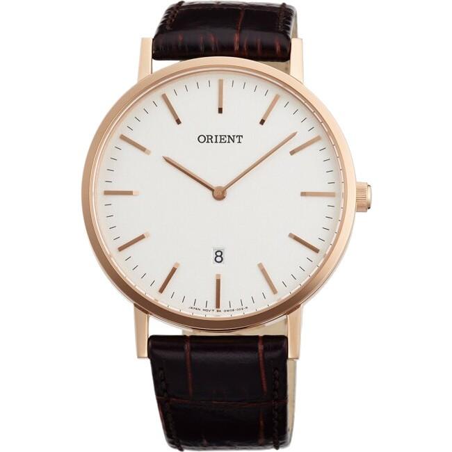 Orient 東方錶 FGW05002W 極簡風格超薄時尚腕錶/白面 40mm