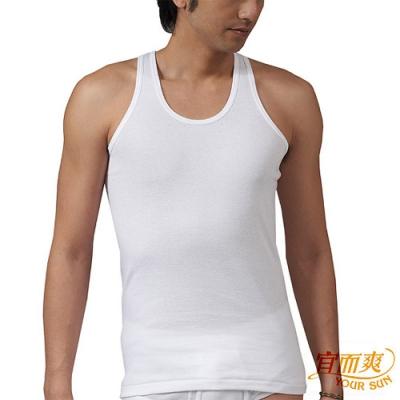 宜而爽 時尚型男短袖背心3 件組