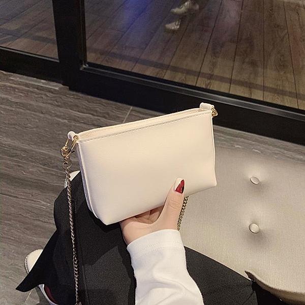 手提包 小包包女2021新款潮韓版百搭夏天簡約單肩斜挎包迷你夏季手機女包 快速出貨