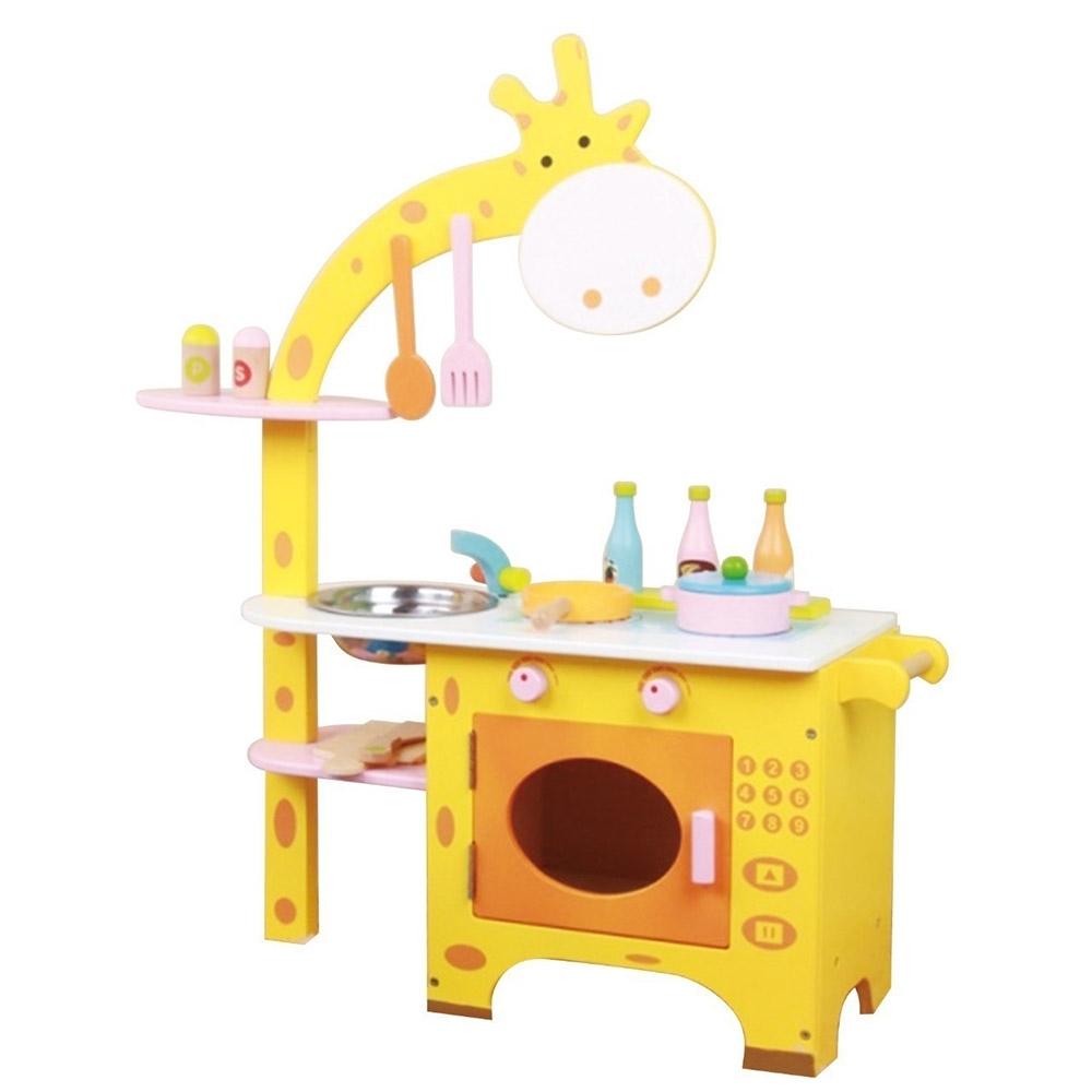 【親親】木製長頸鹿廚房(MSN15029)