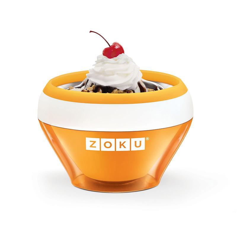 快速製冰淇淋機 (橘色)