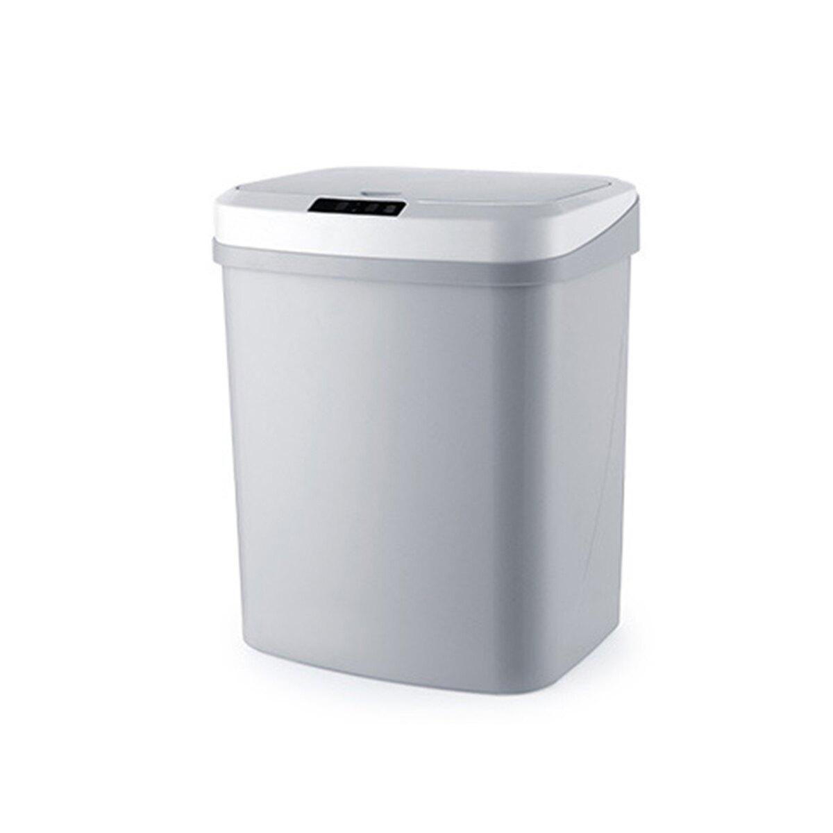 【現貨】3D立體感應全方位感應垃圾桶15L 紅外線感應【CSMART+】
