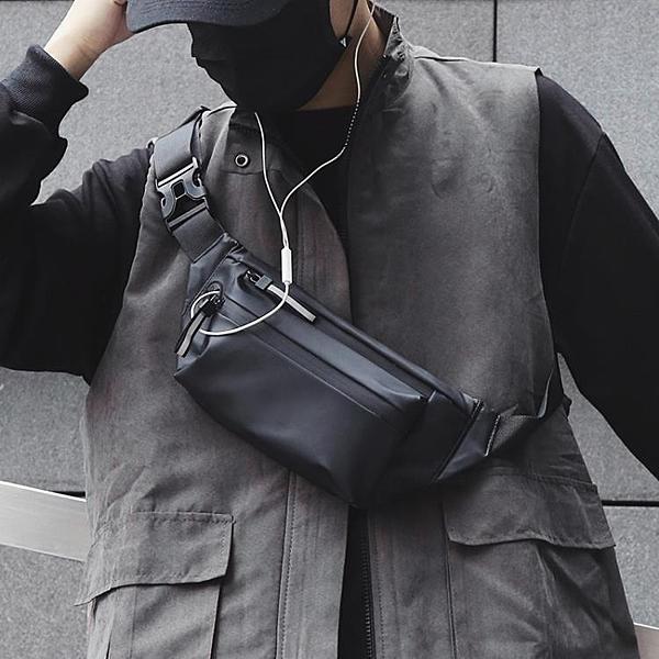 胸包防水男士腰包個性休閒戶外運動斜挎包時尚韓版潮流死飛騎行包 酷男精品館