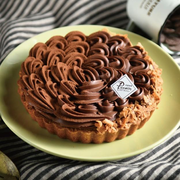【食感旅程Palatability】生巧克力塔 法國頂級70%巧克力 香酥手工塔皮
