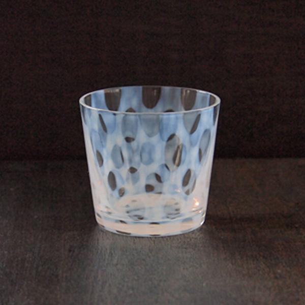 日本 廣田硝子 大正浪漫豬口杯 144ml(水玉)