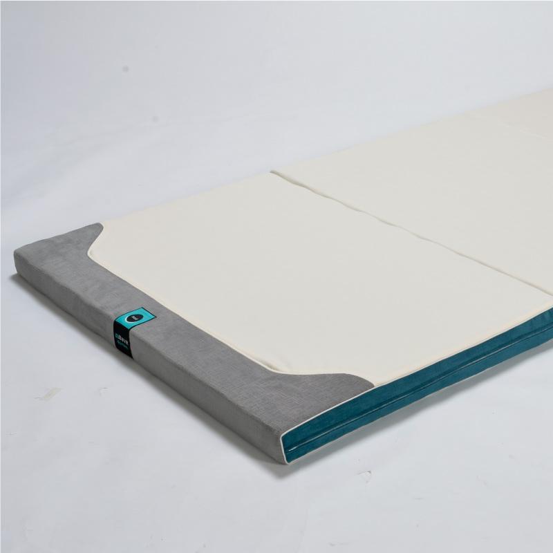 日本WWAVE美脊BMI波紋墊_硬型(藍色)_雙人150x185cm