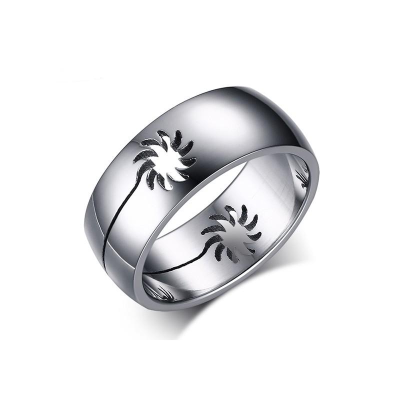 316小舖c405(優質316l鈦鋼戒指-樓空太陽鋼戒-單件價 /鈦鋼戒指/批發飾品/超低價/便